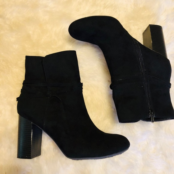 Payless Black Ankle Boots